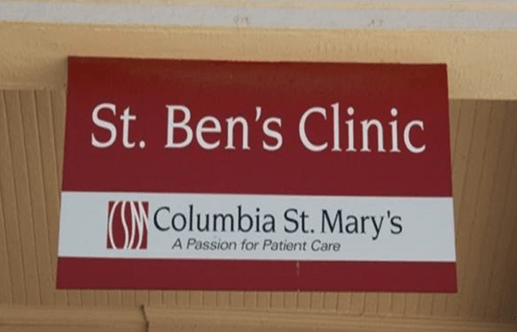 Columbia St. Mary's - St. Ben's Clinic