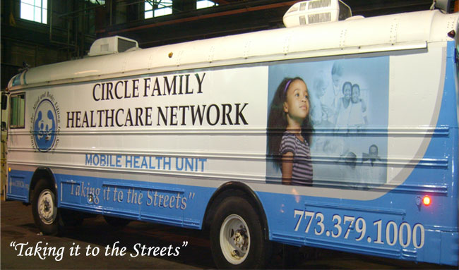 Circle Family Healthcare Network Mobile Health Van