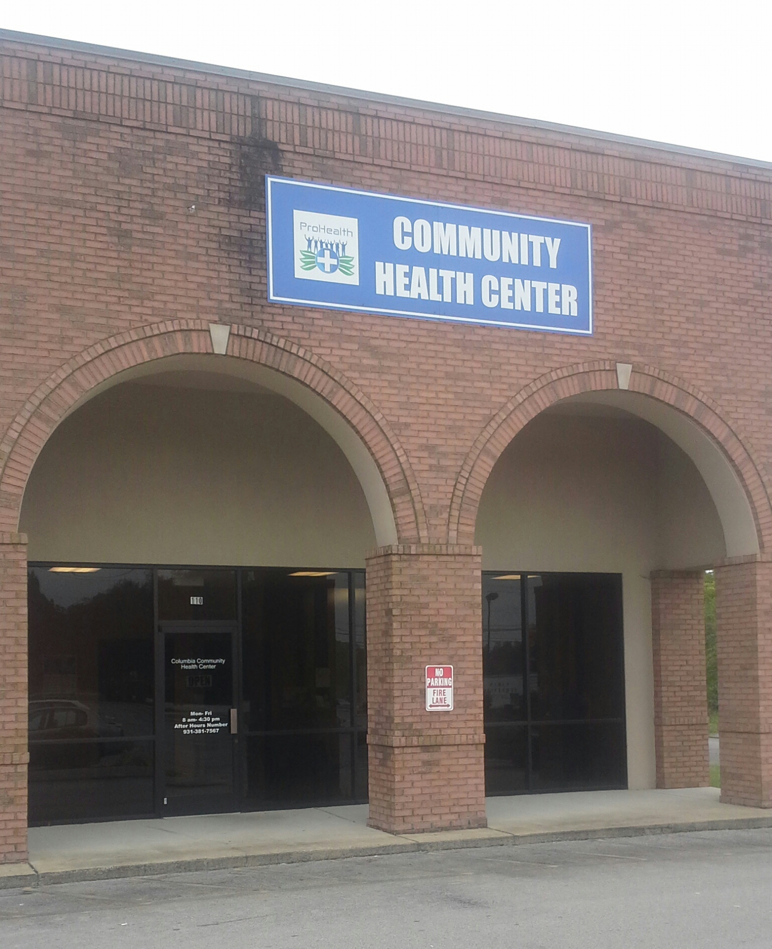 Prohealth Community Health Center- Columbia