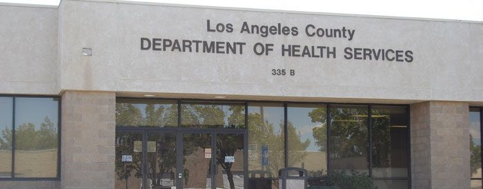 Los Angeles County Public Health Department Antelope Valley Health Center
