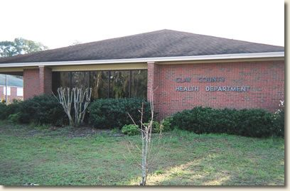 Clay County Health Department Clinic Fort Gaines