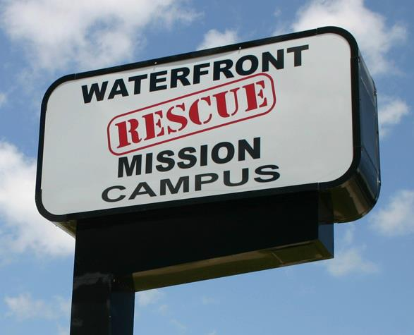 ECC at Waterfront Rescue Mission