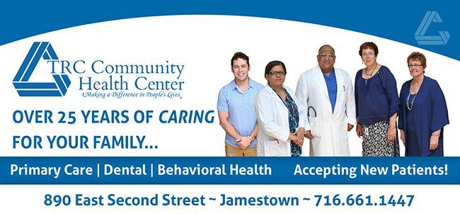 Trc Community Health Center Jamestown Ny 14701
