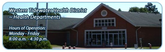 Western Tidewater Health District