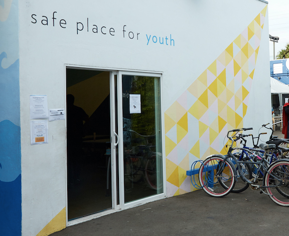 Bill's Clinic at Safe Place for Youth