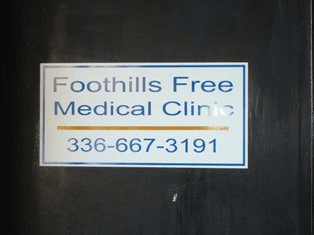 Foothills Free Med Clinic
