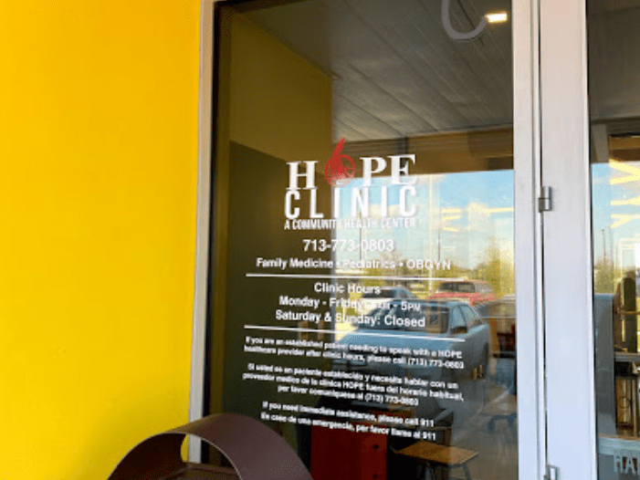 HOPE Aldine Clinic